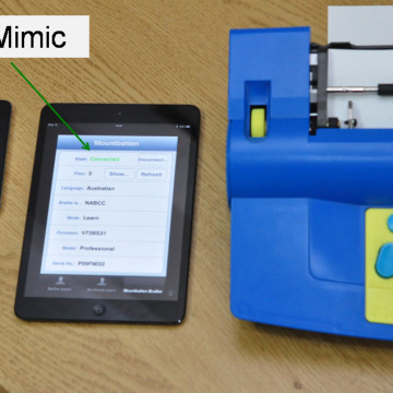 The MB Mimic app for iOS gives the Mountbatten limitless options